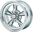 99 ea Torq-Thrust D Chrome This classic design from American Racing Wheels, burst on the scene way back in 1965 and became the most famous custom wheel of all time.
