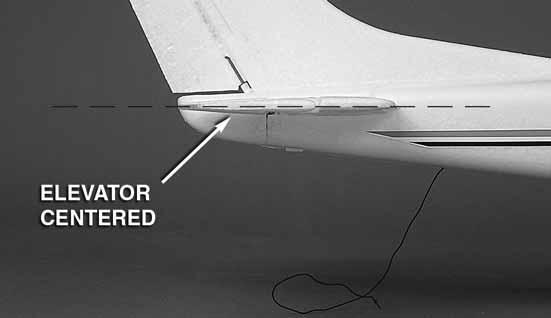IMPORTANT: For the following procedure the propeller must not be mounted to the motor.