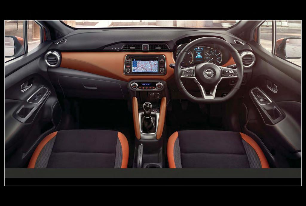 MAKE IT YOUR LIVING SPACE. The All New Micra s interior has been finely crafted to uplift your experience on the road.