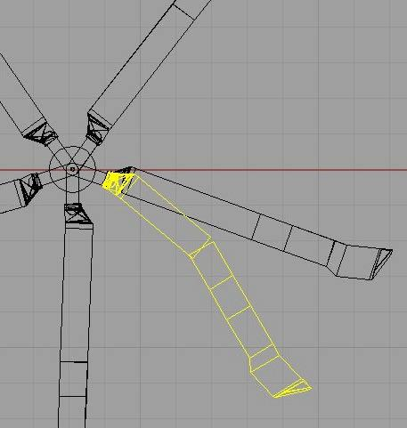 Method: Main Rotor Blade Modelling Hub Blade Representation Main Rotor Blade Our hypothesis is that the 2 nd lag mode of the main rotor blades is coupling.