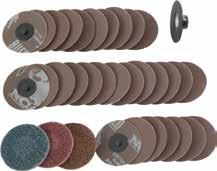 "male screw lock sandpaper x10: 3"" 120 grit male screw lock sandpaper x1: 3"" fine screw lock conditioning pad x1: 3"" medium screw lock conditioning pad x1: 3"" coarse screw lock conditioning pad"