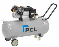 5 or 3HP motors Fitted with genuine PCL Airflow couplings on the outlet Twin outlets for greater flexibility User friendly clear pressure gauges and oil level gauge Strong durable wheels Simple push