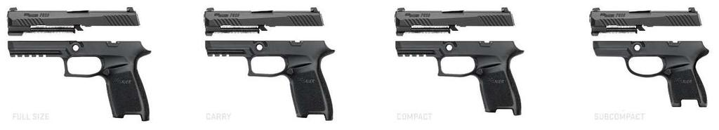 Modules Convertible Calibers 9mm,.357 Sig,.