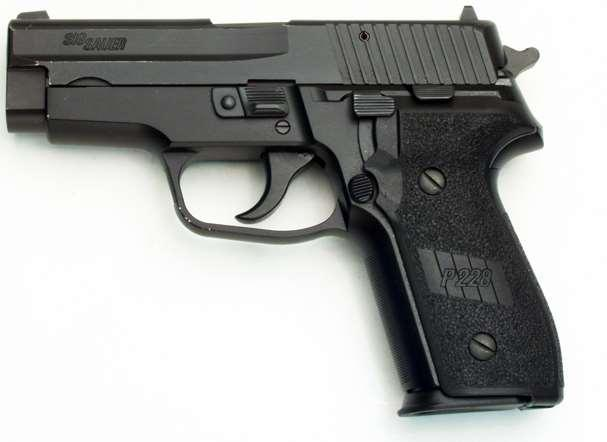P228 in 9mm 1990 Moved to