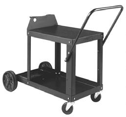 Includes bottom drawer for miscellaneous items. Universal Carrying Cart and Cylinder Rack #0 9 Accommodates power source, plus one gas cylinder up to in (1. cm) high measuring to 9 in (1. to.8 cm) in diameter.