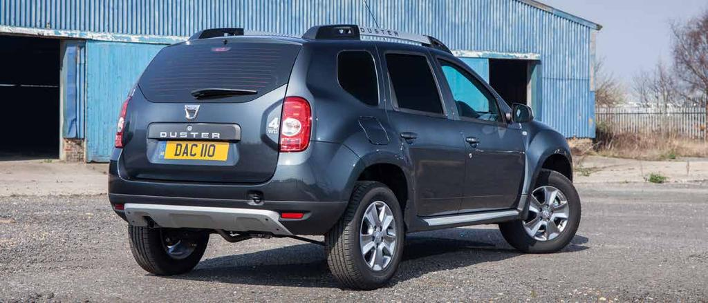Dacia Duster Commercial Accessories ACCESSORY PACKS* Ambiance Lauréate Basic Price VAT Total Retail Price Mesh Bulkhead 300.00 60.00 360.00 Styling Pack Chrome side bars Chrome front bar 512.50 102.