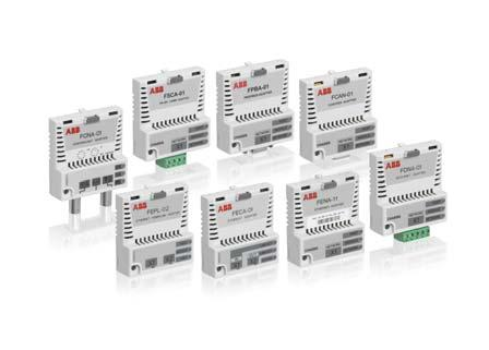 Flexible connectivity to automation networks Our fieldbus adapter modules enable communication between drives, systems, devices and software.