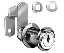 DISC TUMBLER CAM LOCKS FOR DOORS AND DRAWERS 90 & 180 Cam Turn, Flush or Lipped/Overlay Construction Each lock comes with two stop washers allowing cam to turn either 90 or 180 based on application.