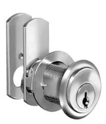 pin TUMBLER CAM locks For Door And Drawers 90 Cam Turn, Lipped/Overlay Construction Each lock comes with one stop washer which allows the cam to turn 90.