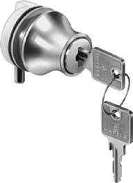 by-passing, Glass door & Showcase locks By-Passing (Sliding) Door Locks For Doors 3/4 1-3/4 Thick Patented, positive-action design with lock cylinder geared