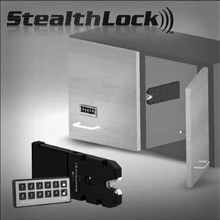 keyless locks Keyless Cabinet Locking System Radio Frequency Controlled For use in wood applications such as lockers; closet cabinets and storage; kitchen cabinets, liquor cabinets, and entertainment