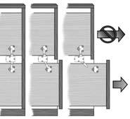 ANTI-TIP interlock SYSTEM For 2 or 3-4 Drawer Lateral File Prevents more than one drawer from being opened at a time Used on file cabinets where no lock is present Meets BIFMA standards for strength