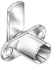 TLCB094 TLCB098 Thick Panel Cylinder Bodies Vertical Material Thickness, 7/8 to 1-1/4 Universal type lock for doors or drawers.