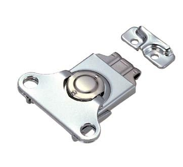 hasps & latches Screw-On Hasps Material: 316 Stainless Steel Catch is designed to accept pad lock. Stainless steel screws included.