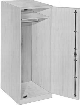 Material Timberline System 270 Full 1/2 lockbar throw Fits within 1/2 drawer slide clearance Lock mounted in side panel Lock hole is only machining required Not recommended for face frame