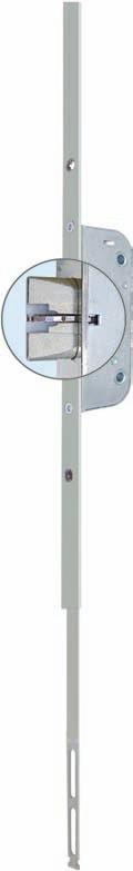 8' To be used with GU-SECURY Automatic key-operated door Locks The lock with the click Automatic latchbolts