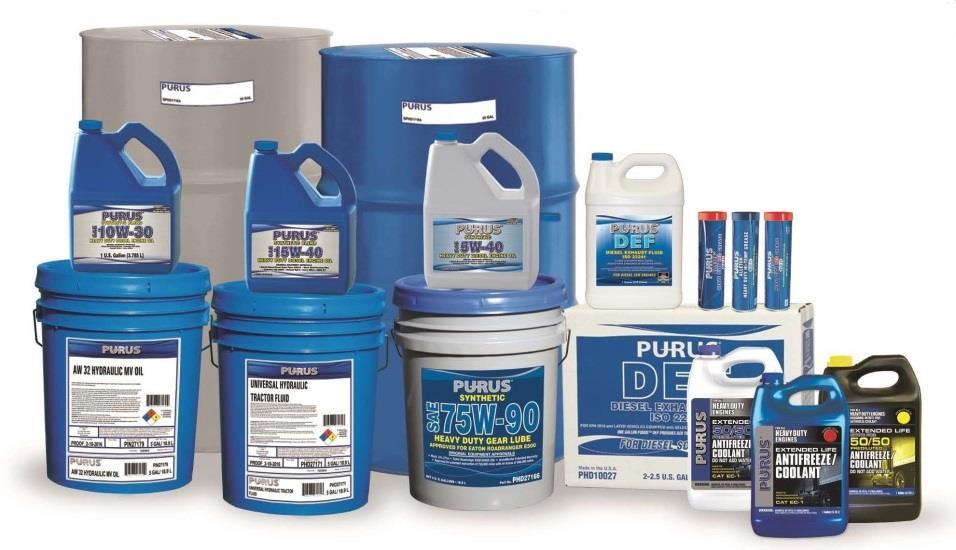 The PURUS Advantage Product Overview PURUS Heavy Diesel Engine Oils (HDEO) have been designed to deliver premium performance in over-the-road & off-road applications PURUS HDEO provides end users