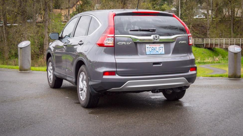 Congratulations on the completed installation of the Honda CR-V Stealth EcoHitch!