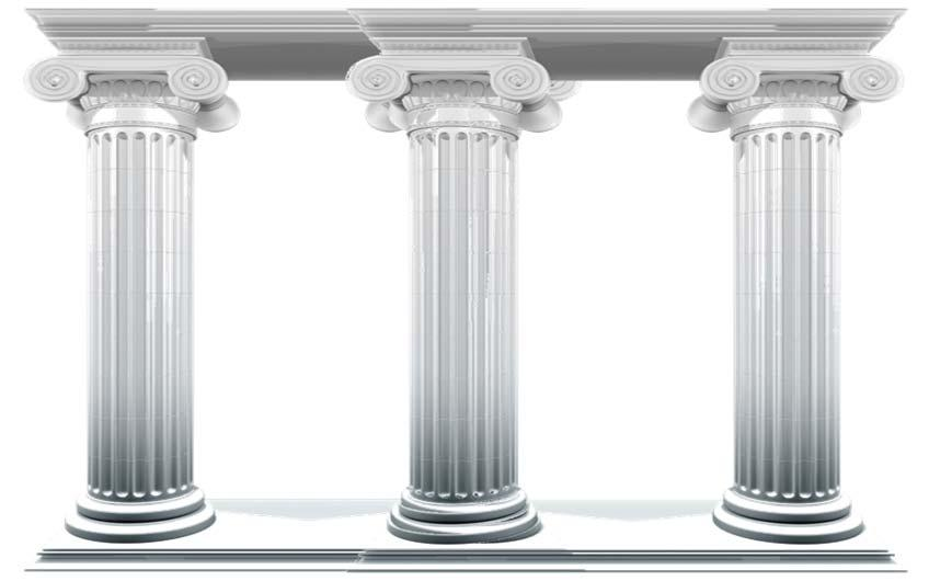 3 pillars It may