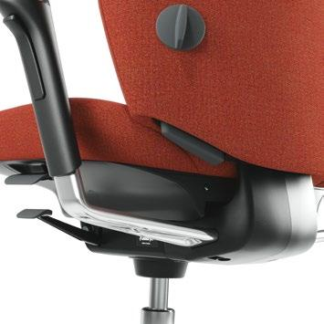 Capella 19 SEAT HEIGHT You can easily set the chair s seat height to suit you and your height. This is to give your body the best possible support.