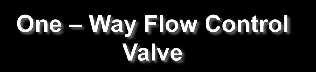 allows free flow in the