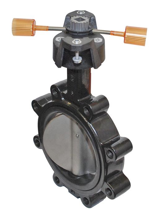 F6200, 8, 2-Way Butterfly Valve Resilient Seat, 304 Stainless Steel Disc Application Valve is designed f use in ASI flanged piping systems to meet the needs of bi-directional high flow HVAC hydronic