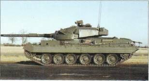 LIGHT TANKS AND MAIN BATTLE TANKS 7.62mm MG which can be aimed from inside the vehicle.