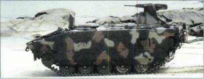 TRACKED APCs /WEAPONS CARRIERS AMX-10 VFA, AMX-10 VLA and AMX-10 SAF.