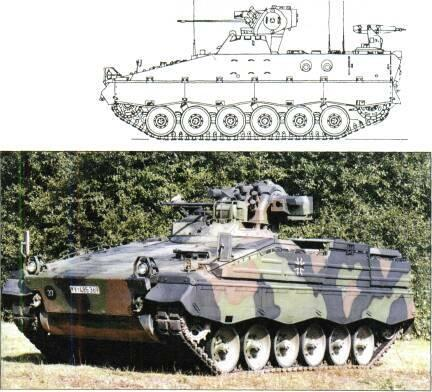 TRACKED APCs /WEAPONS CARRIERS Marder 1 A2, all Marders upgraded to this standard and includes modified chassis and suspension.
