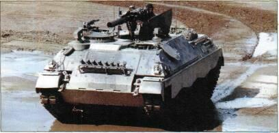TRACKED APCs /WEAPONS CARRIERS Above: Jaguar 1 with HOT ATGW launcher extended (Michael Jerchel)
