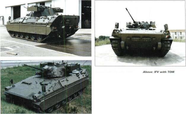 TRACKED APCs /WEAPONS CARRIERS Above