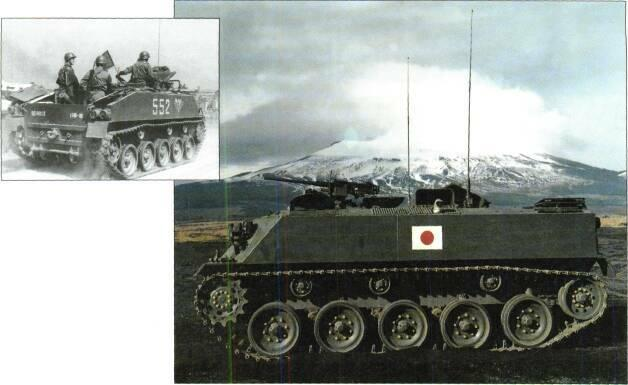 TRACKED APCs /WEAPONS CARRIERS Above: Type SX BO 4.2 inch (107mm) mortar carrier Right: Type SU 60 APC STATUS Production complete.