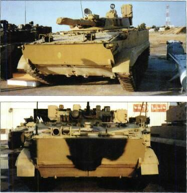TRACKED APCs /WEAPONS CARRIERS VARIANTS BMP-3 reconnaissance, called BRM, or Rys (Lynx). BMP-3 driver training vehicle. BMP-3 recovery vehicle (BREM-L). BMP-3K command vehicle.