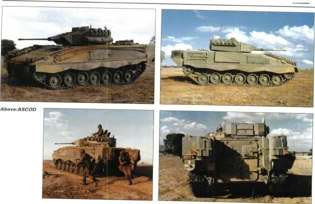 TRACKED APCs /WEAPONS CARRIERS MICV Above right: