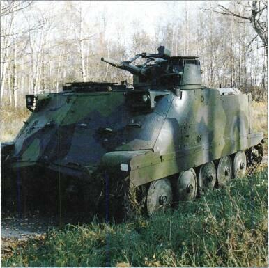 TRACKED APCs /WEAPONS CARRIERS Bplpbv 3023 is armoured fire direction post vehicle with four