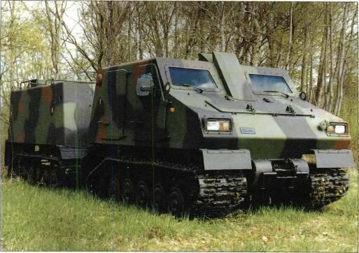 TRACKED APCs /WEAPONS CARRIERS VARIANTS The BvS 10 is of modular construction enabling it to underake a wide range of battlefield missions and unit can be modified to accept a wide range of