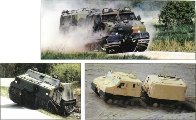TRACKED APCs /WEAPONS CARRIERS Right: BV