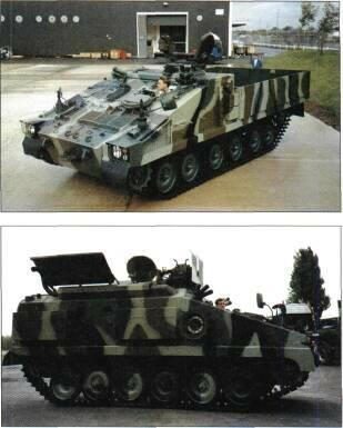 TRACKED APCs /WEAPONS CARRIERS Volcano is called the Shielder. STATUS In production.