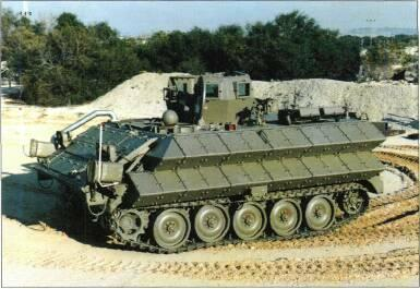 TRACKED APCs /WEAPONS CARRIERS VARIANTS There are countless local modifications of M113, for example Israeli vehicles have additional armour protection and German vehicles have smoke grenade