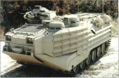 TRACKED APCs /WEAPONS CARRIERS LVTP7A1 with 40mm/12.7mm turret.