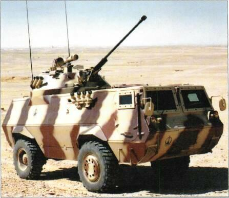 4x4 VEHICLES Fahd 30 was shown for the first time in 1991 and is essentially the Fahd fitted with the complete turret of the Soviet BMP-2 IFV armed with 30mm cannon, 7.