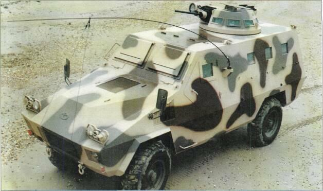 4x4 VEHICLES Above: ACM AT VBL light armoured car with