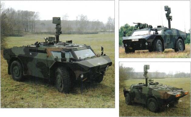 4x4 VEHICLES Above: Fen neck (Netherlands Army) Top right: