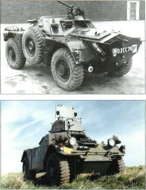 4x4 VEHICLES Left: Daimler Ferret Mk 1 Right: Ferret Mk 1 Left: Daimler Ferret Mk 4 for the Ferret including a more