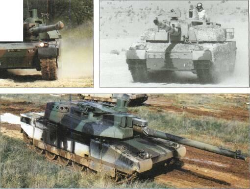 LIGHT TANKS AND MAIN BATTLE TANKS STATUS Production. In service with fiance and the UAE.