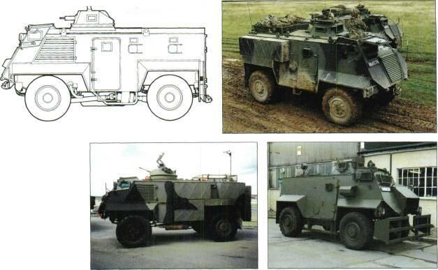 4x4 VEHICLES GKlV Saxon (4x4) with MG turret MANUFACTURER Alvis Vehicles Limited, Shropshire, England, UK.