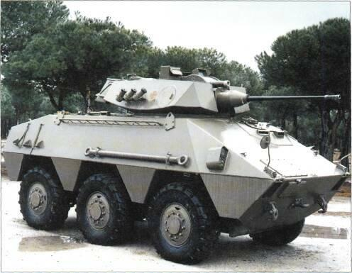 6x6 VEHICLES STATUS Production complete. In service with the Spanish Army.