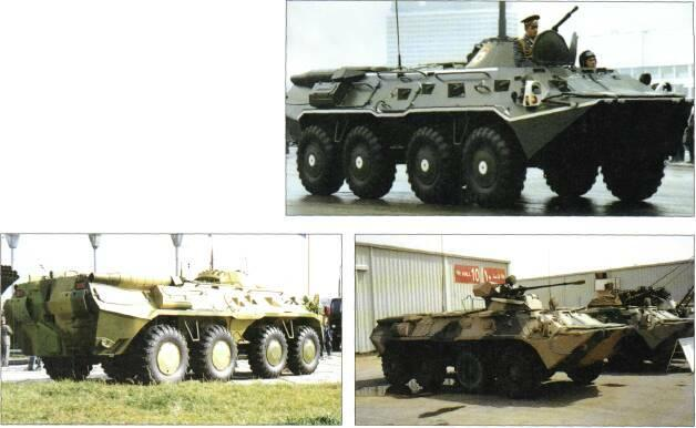 8x8 VEHICLES BMM armoured medical vehicle BTR-80 with Kliver turret STATUS Production.