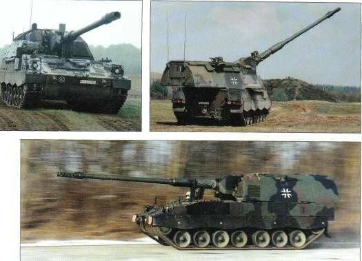 SELF-PROPELLED GUNS