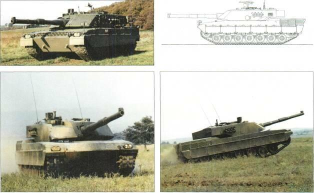 LIGHT TANKS AND MAIN BATTLE TANKS Left: Ariete MBT